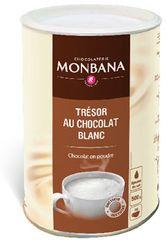 Monbana biała gorąca czekolada, 500 g