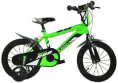 "Dino bikes 14"" zelená"