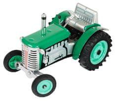 KOVAP Traktor Zetor zelený na klíček - zánovní