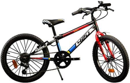 """Dino bikes Rower dziecięcy Aurelia 20"""" Boys Black"""