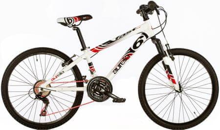 """Dino bikes Rower dziecięcy Aurelia 24"""" Boys White"""