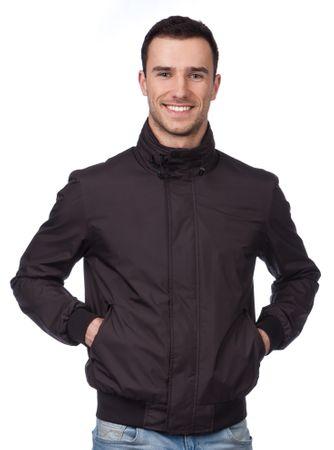 Geox muška jakna 58 crna