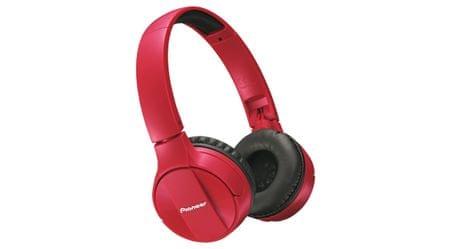 Pioneer slušalke SE-MJ553BT, rdeče