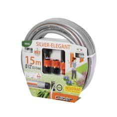 "Claber početni set za zalijevanje vrta Silver Elegant, 1/2"", 15 m (8845)"