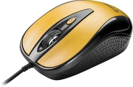 Yenkee YMS 1025GD mysz USB Quito złoty