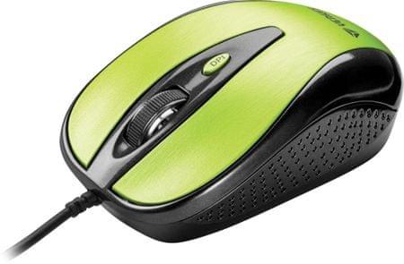 Yenkee YMS 1025GN mysz USB Quito zielona
