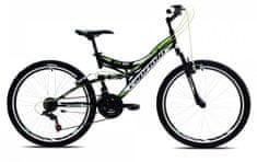 Capriolo brdski bicikl MTB CTX260 16, crno-zeleni