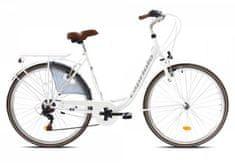 Capriolo gradski bicikl Tour Diana City, bijeli