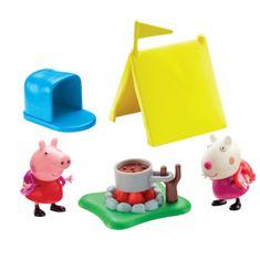 TM Toys Peppa- Zestaw Kemping +Figurki