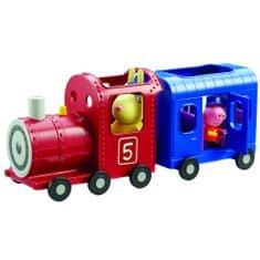 TM Toys Peppa Pig - vonat + 2 figura