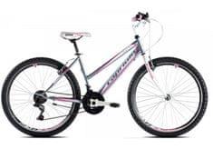 Capriolo brdski bicikl MTB Passion, sivo-rozi