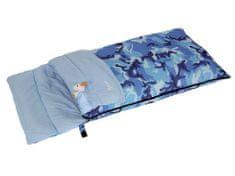 Bertoni vreća za spavanje Junior Camo, plava