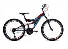 Capriolo brdski bicikl MTB CTX240, crno-crveni