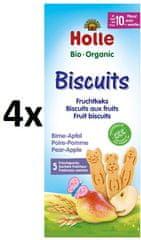 Holle Bio keksy ovocné 4x125g