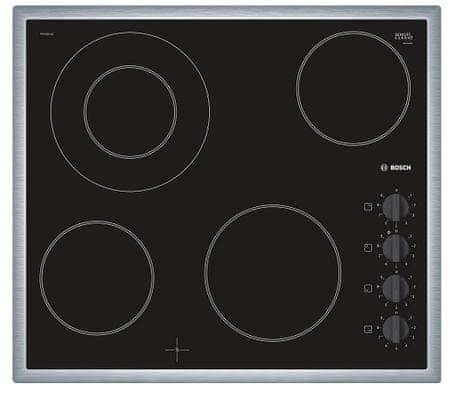 Bosch steklokeramična kuhalna plošča PKF645CA1E