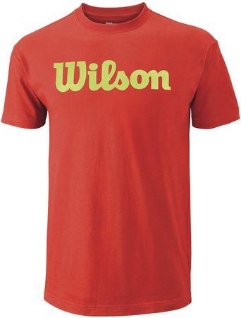 Wilson muška majica Script TeeFiesta/Green Glow, M