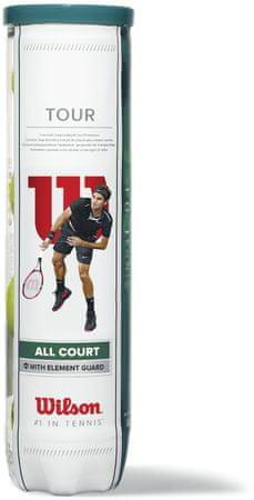 WILSON Tour All Court 4 Ball