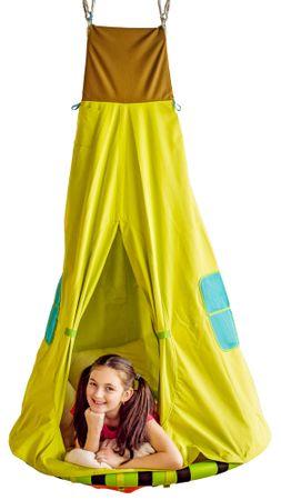 Woody gugalnica gnezdo s šotorom
