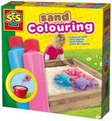 SES Színek a homokra rózsaszín, kék