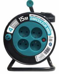 Moveto Prodlužovací kabel na bubnu 15m