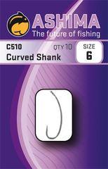 Ashima Háčky C510 Curved Shank (10ks)