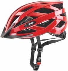 Uvex biciklistička kaciga I-Vo (2017), crvena