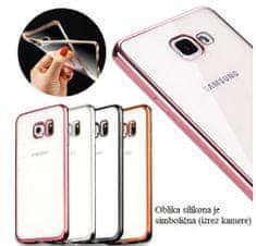 Silikonska maska za Samsung Galaxy A3 2017, roza