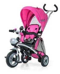 MillyMally Rowerek Trójkołowy CITY pink - Allegro