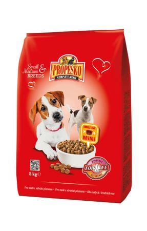 Propesko Kutyatáp kis és közepes fajtáknak 8kg