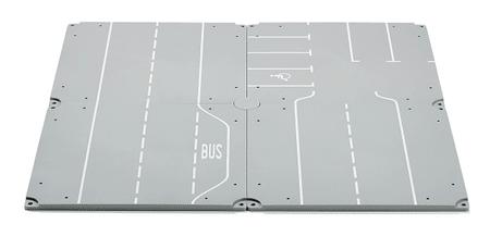 SIKU World autópálya autóbusz megálló parkolóval + ajándék