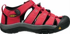 KEEN detské sandále Newport H2 K Ribbon Red/Gargoyle