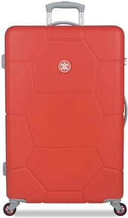 SuitSuit Cestovný kufor Caretta L Fiery Red