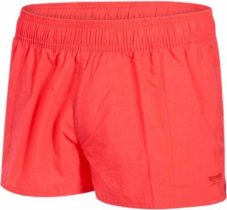 Speedo žženske kopalne hlače Solid Leisure 10, rdeče, S