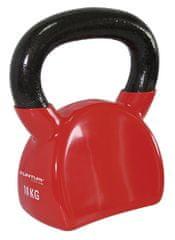 Tunturi Winylowa Kettlebell czerwona 10 kg