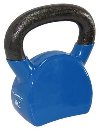 Tunturi Vinyl Kettlebell modrá 12 kg