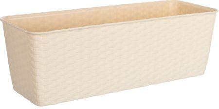 Stefanplast Skrzynka samo nawadniająca Natural 50 cm beżowa