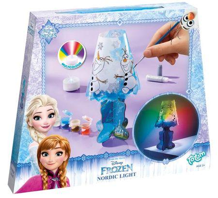Teddies Ľadové kráľovstvo rozprávková lampička