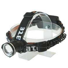 Yate Czołówka Puma 6W CREE + zoom - akumulatorowa