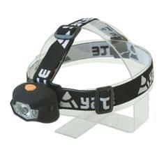 Yate Čelovka Panter 3W CREE + 2 LED - čierna