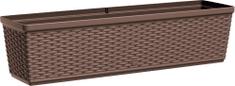 Emsa podłużna donica CASA MESH, 75x20 cm