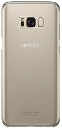 Samsung maska Clear View za Galaxy S8 Plus, transparentno zlatna (EF-QG955CBE)