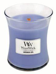 Woodwick srednje velika svijeća Lavender Spa (92492)