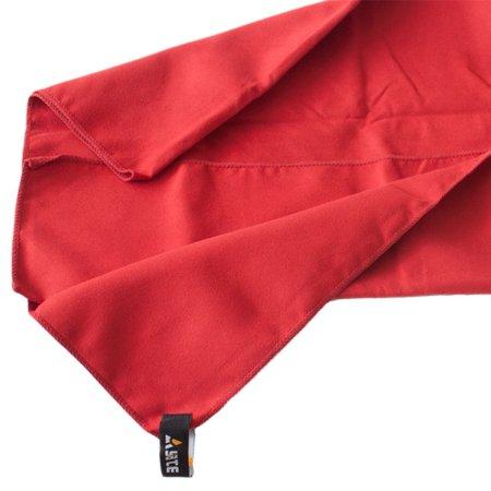 Yate Gyorsan száradó törölköző, Piros, XL