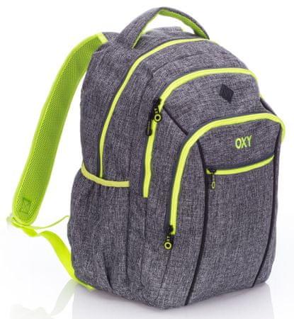 Karton P+P Anatomiczny plecak OXY TWO Grey