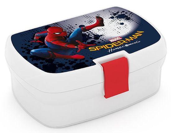 Karton P+P Box na svačinu Spiderman