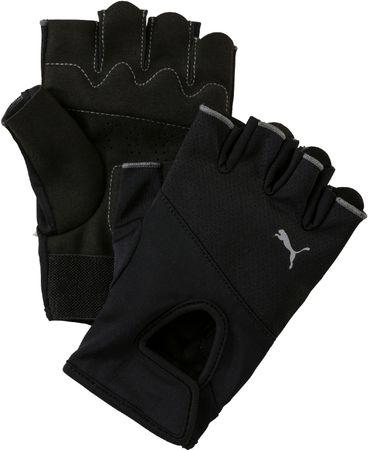 Puma TR Fitness kesztyű, Fekete/Ezüst, L