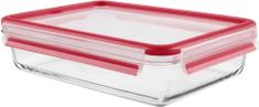 Tefal CLIP&CLOSE GLASS dóza štvorcová sklo 2 l
