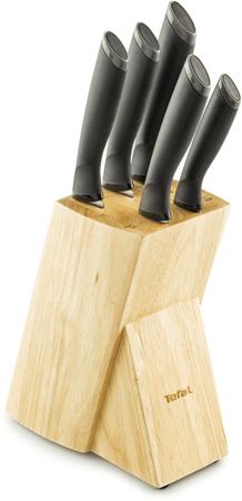 Tefal zestaw noży i podstawka, 5 szt.