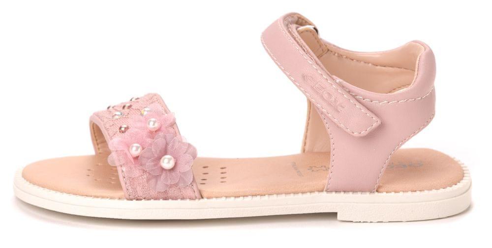 3ae05942085b Geox dívčí sandály Karly 29 ružová