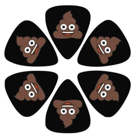 Perris Leathers Emoji Picks IV Poo Brnkátka